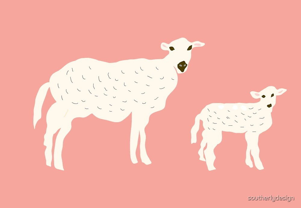 Sheep by southerlydesign