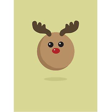 Christmas reindeer  by ibrahimGhd