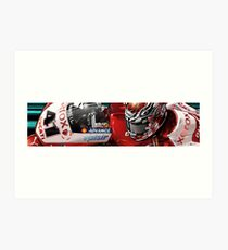 Noriyuki Haga - Xerox Ducati 1198 Art Print