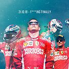 Kimi Raikkonen - Finally by evenstarsaima
