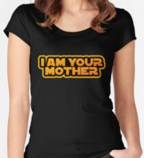 I am your family, I am your mother Women's Fitted Scoop T-Shirt