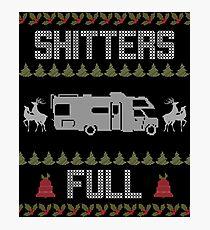 Shitters Full Sweater Wall Art Redbubble