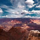 The Storm on the North Rim by Dennis Reagan