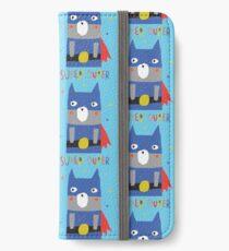 Super-Duper Hero iPhone Wallet/Case/Skin