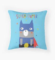 Super-Duper Hero Throw Pillow