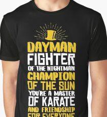 DAYMAN! Champion der Sonne! Grafik T-Shirt
