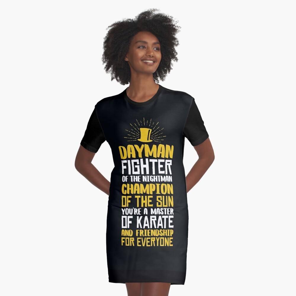 DAYMAN! Champion der Sonne! T-Shirt Kleid