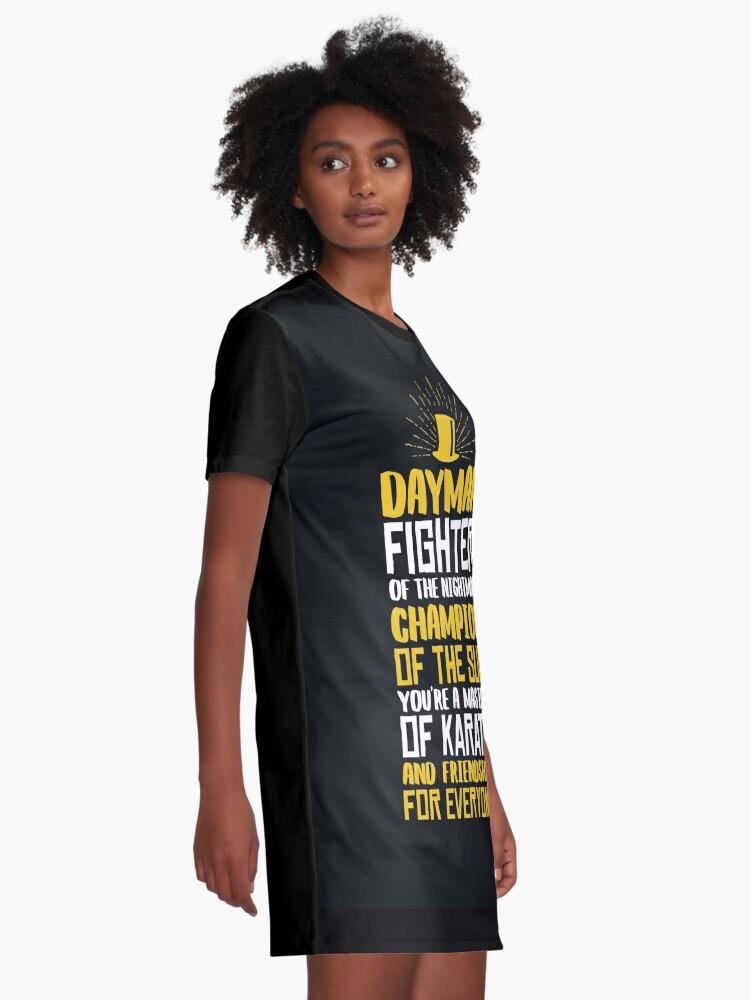 Alternative Ansicht von DAYMAN! Champion der Sonne! T-Shirt Kleid