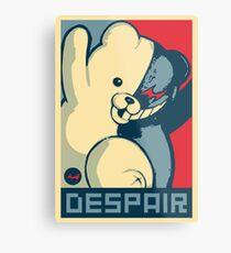 Lienzo metálico Monokuma: Vota por la última desesperación