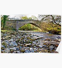 Packhorse Bridge - Coverdale Poster