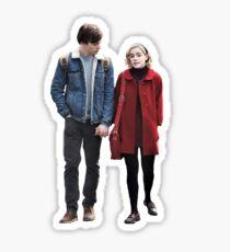 harvey and sabrina  Sticker