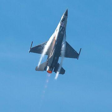 F-16 at Wanaka by baji