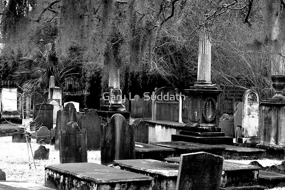 Spooky Graveyard  by Gary L   Suddath