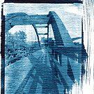 Bridge Cyanotype by deadbilly