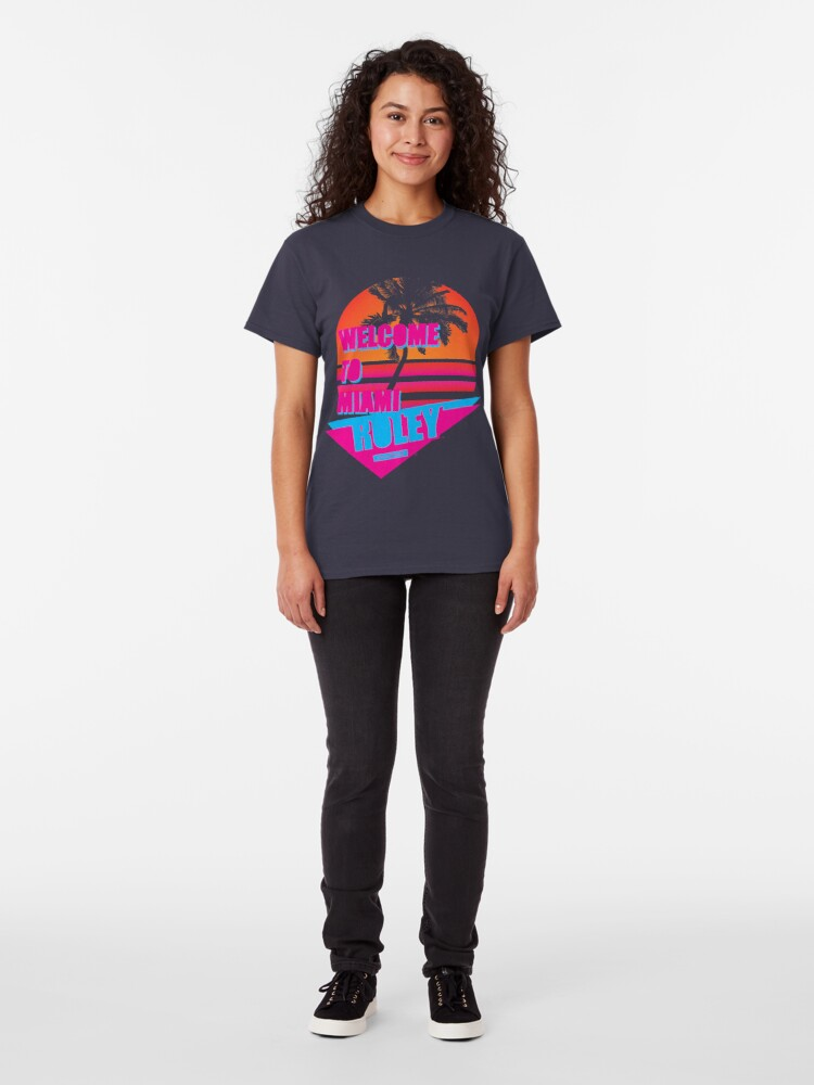 Alternate view of Welcome To Miami - Roley Classic T-Shirt