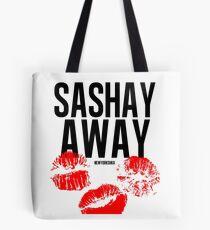 Sashay away white Tote Bag