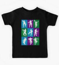 Fortnite Dances - color Kids Tee