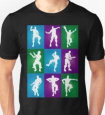 Fortnite Dances - color Unisex T-Shirt