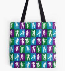 Fortnite Dances - color Tote Bag
