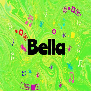 Bella - green personalized gift by myfavourite8