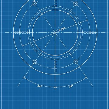 Engineering Blueprint by Kniffen