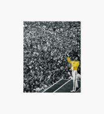 Lámina de exposición Chaqueta de Fredddie Mercury Rock Concert Yellow