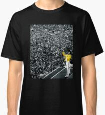 Fredddie Mercury Rock Concert Yellow Jacket Classic T-Shirt