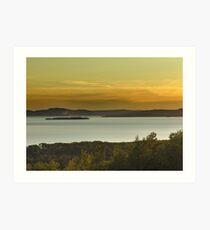 Nipigon Bay,Lake Superior Art Print