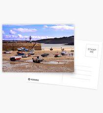 St Ives Harbour Postcards