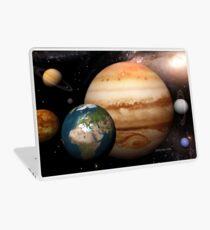 Neighboring Planets - Macrocosmos Laptop Skin