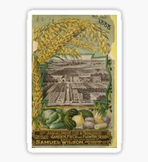 1888 Seed Catalog Sticker