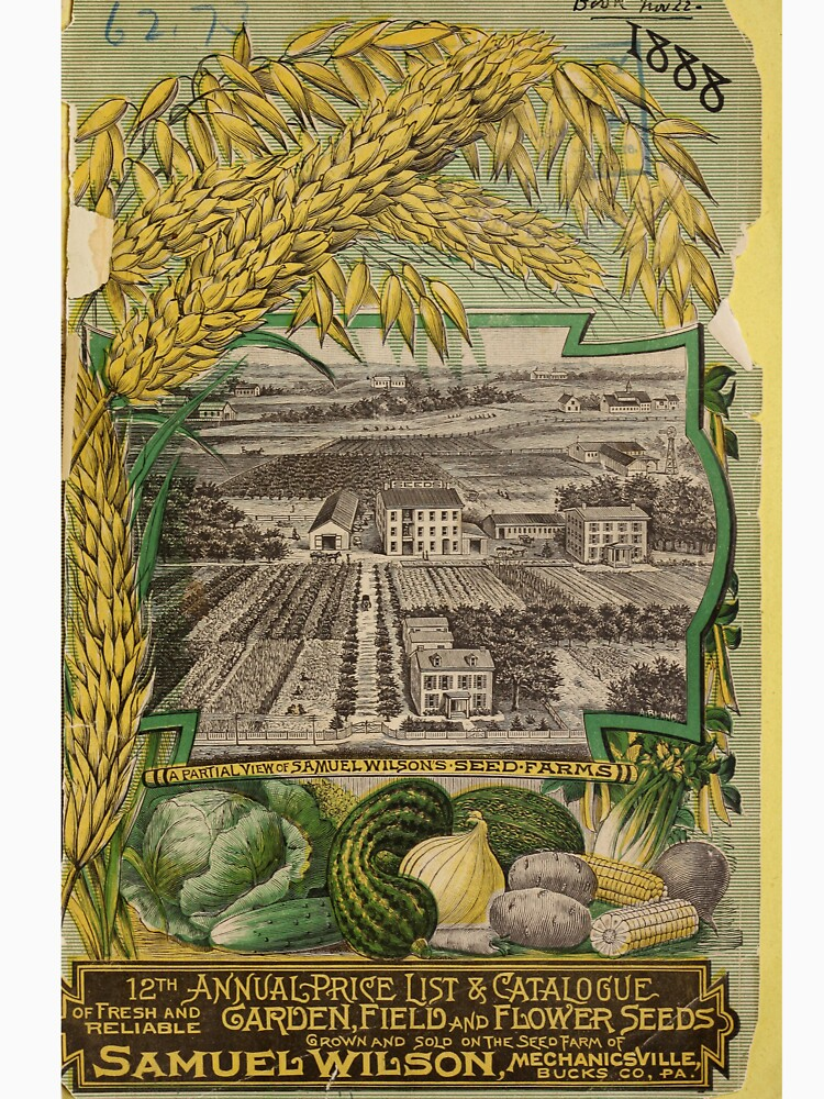 1888 Seed Catalog by douglasewelch