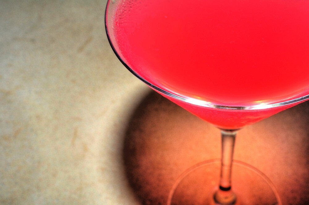 Perfect Cosmopolitan Martini by April Anderson