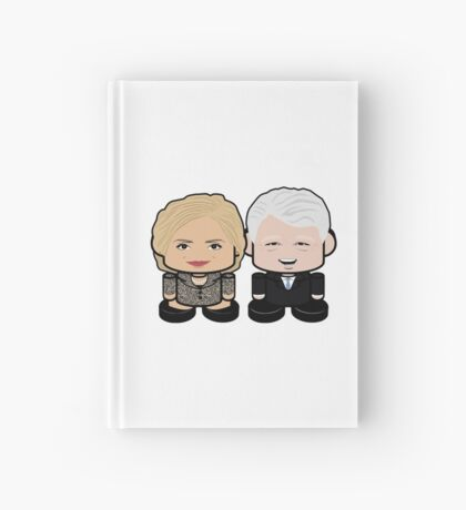 Hill & Bubba: Greater Together Politico'bot Toy Robots Hardcover Journal