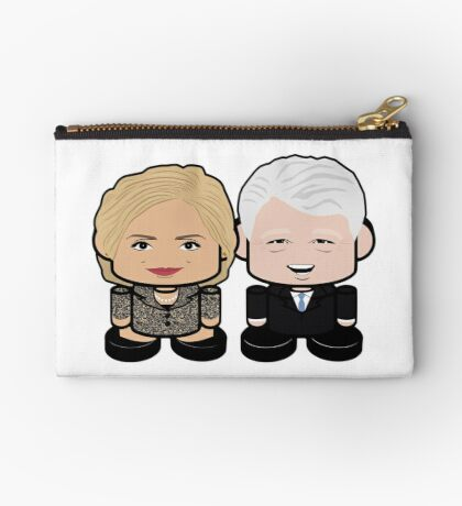 Hill & Bubba: Greater Together Politico'bot Toy Robots Studio Pouch