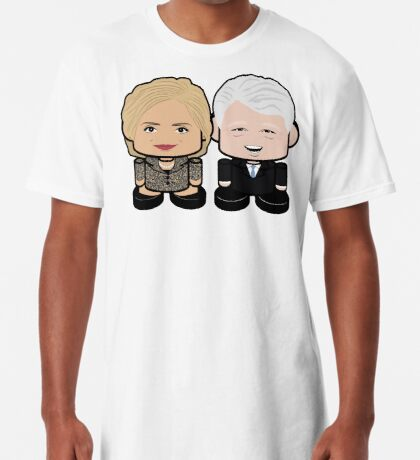Hill & Bubba: Greater Together Politico'bot Toy Robots Long T-Shirt