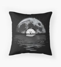 Moon Song Throw Pillow