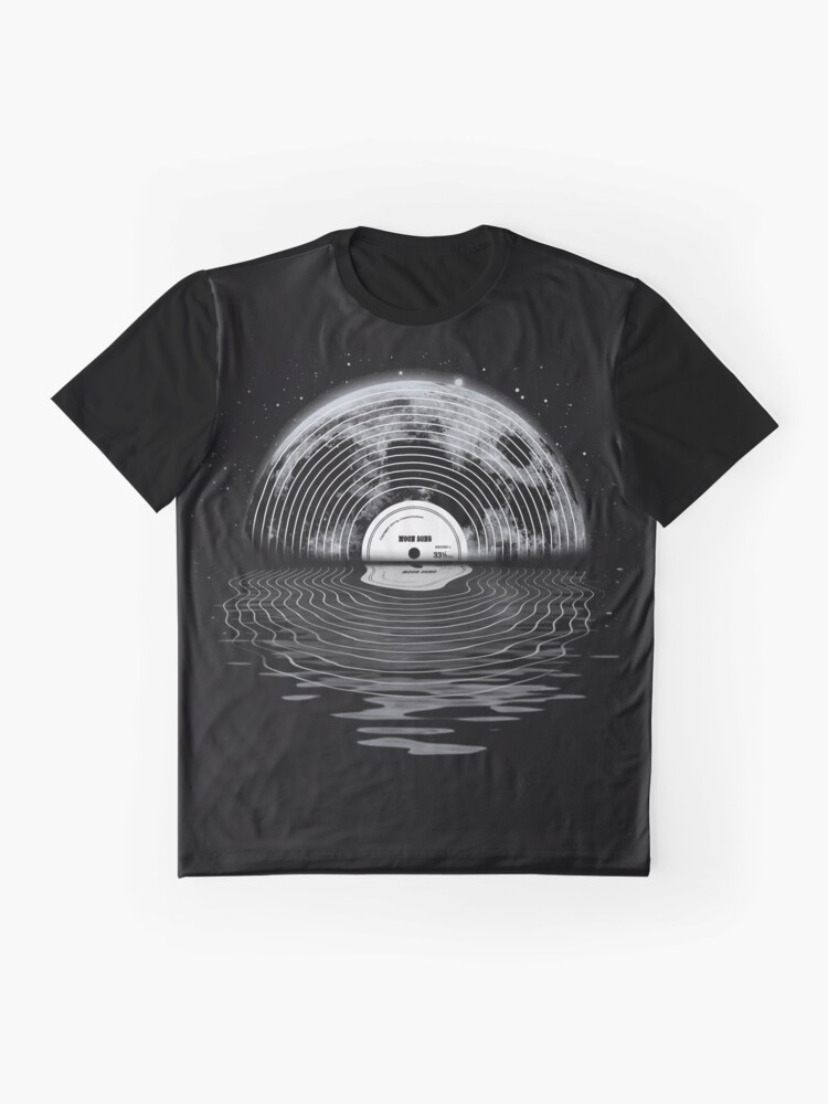 Alternate view of Moon Song Graphic T-Shirt