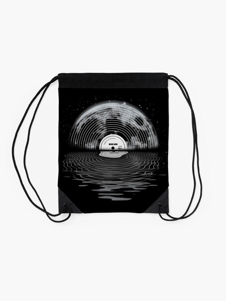 Alternative Ansicht von Mondlied Rucksackbeutel