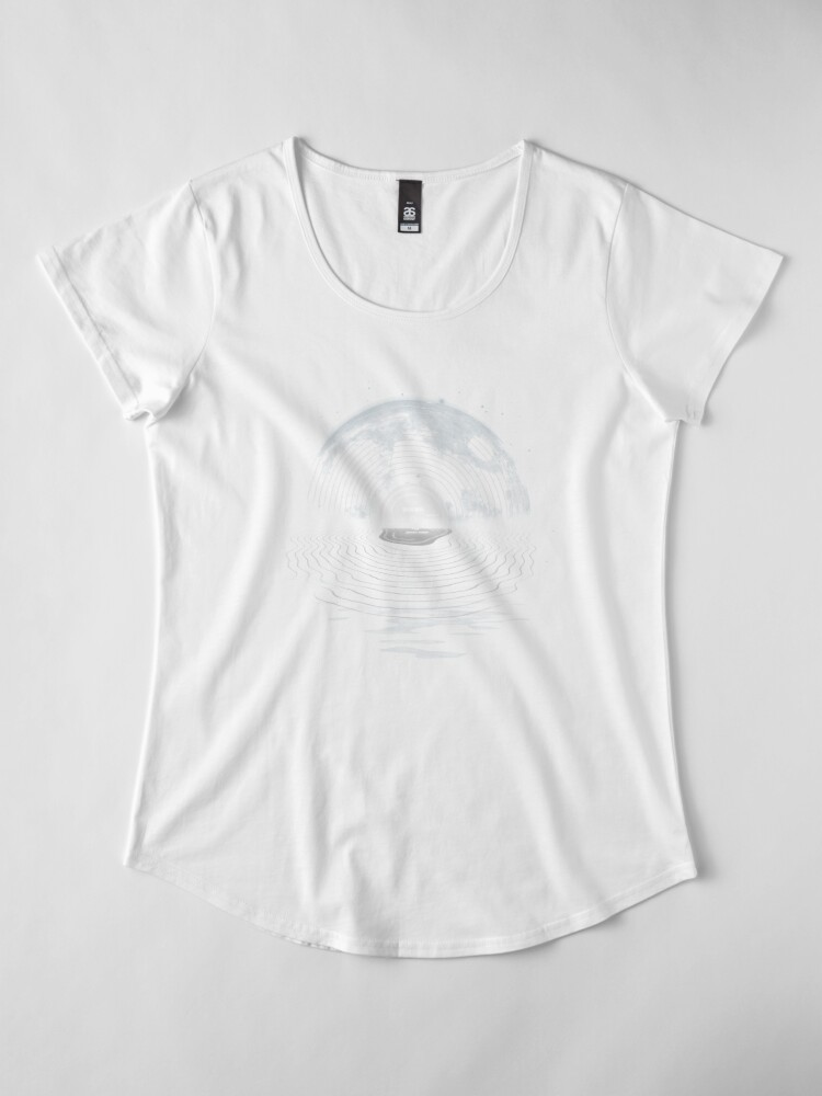 Alternative Ansicht von Mondlied Frauen Premium T-Shirt