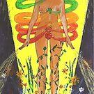 Chakras - human energy field by maryfaerie