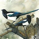 The Magpies by André Vaillant