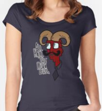All Hail the Dork Lord Women's Fitted Scoop T-Shirt