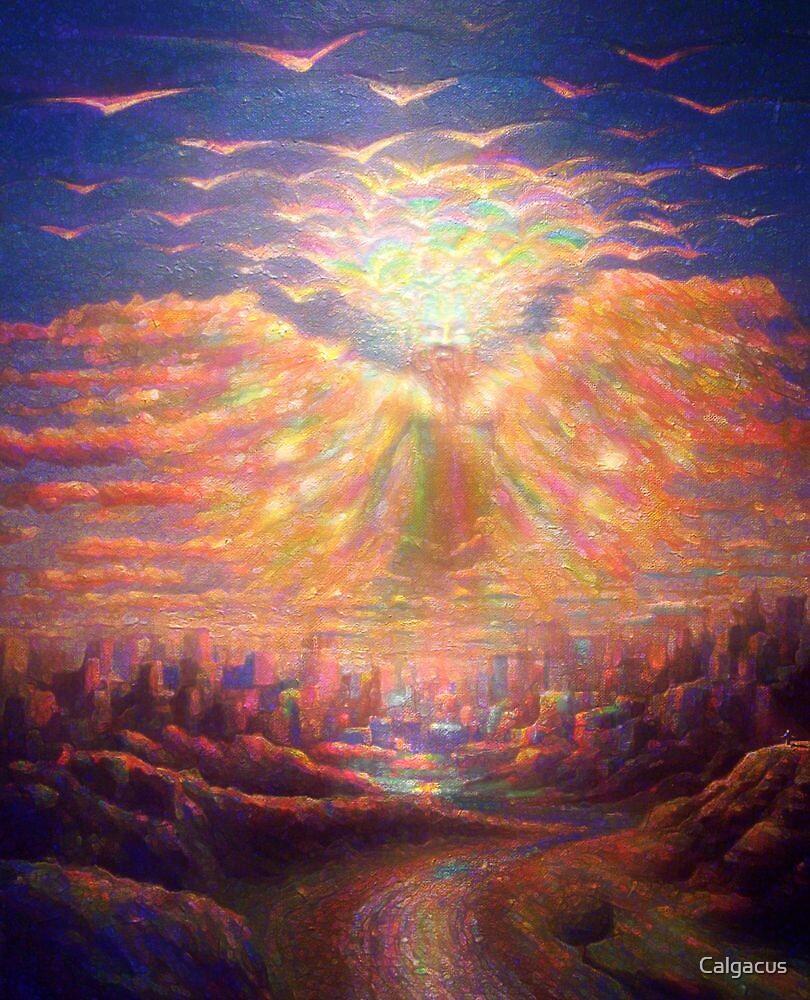 angel of the revelation by Calgacus