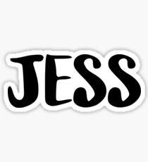 JESS Sticker
