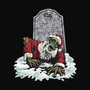 Zombie Christmas Spooky Holidays by Chuft