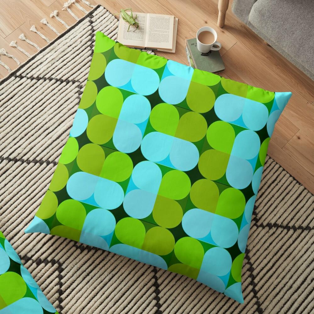 Color Color _01 Floor Pillow
