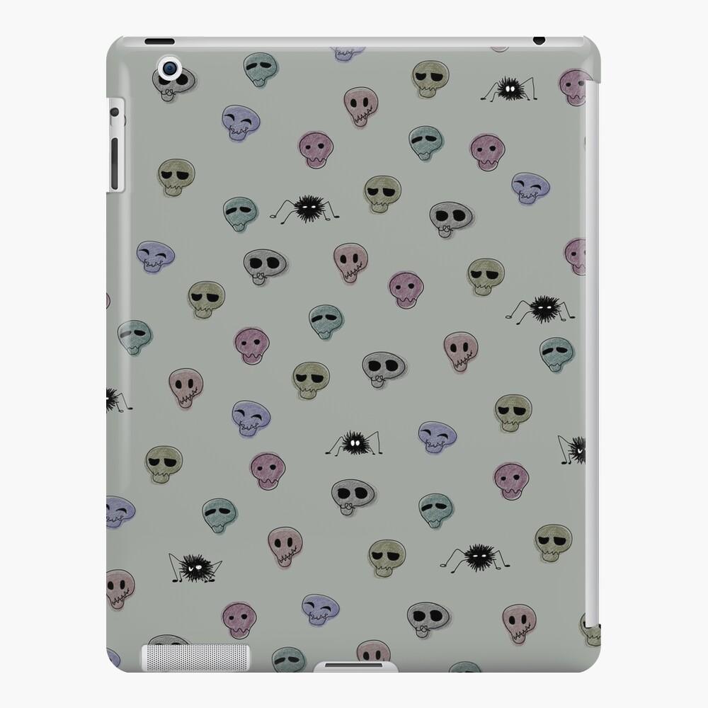 Calaveras, araña, graciosas Funda y vinilo para iPad