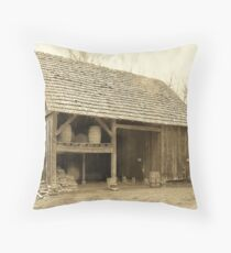 Moravian Barn Throw Pillow