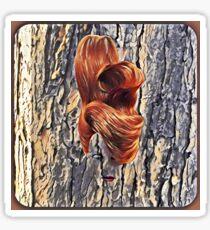 Tree Lady Sticker
